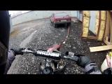 Как НЕ НАДО буксировать мотоцикл