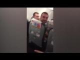 Видео из салона экстренно севшего в Одессе турецкого самолета