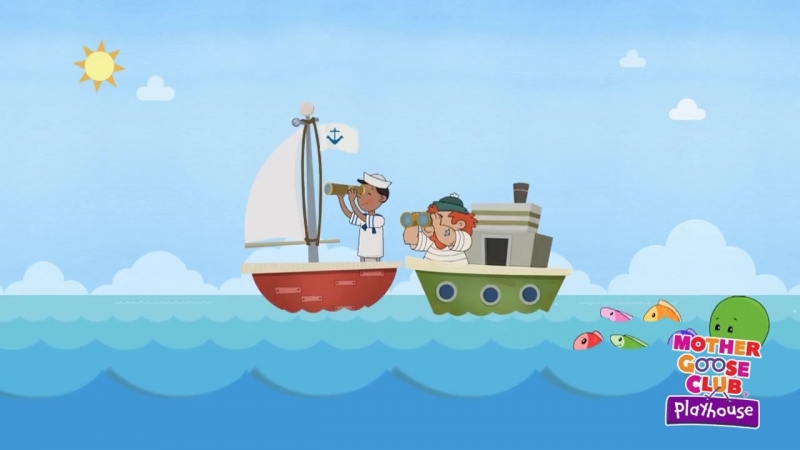 A Sailor Went to Sea - Summer Songs! - Mother Goose Club Playhouse Kids Song