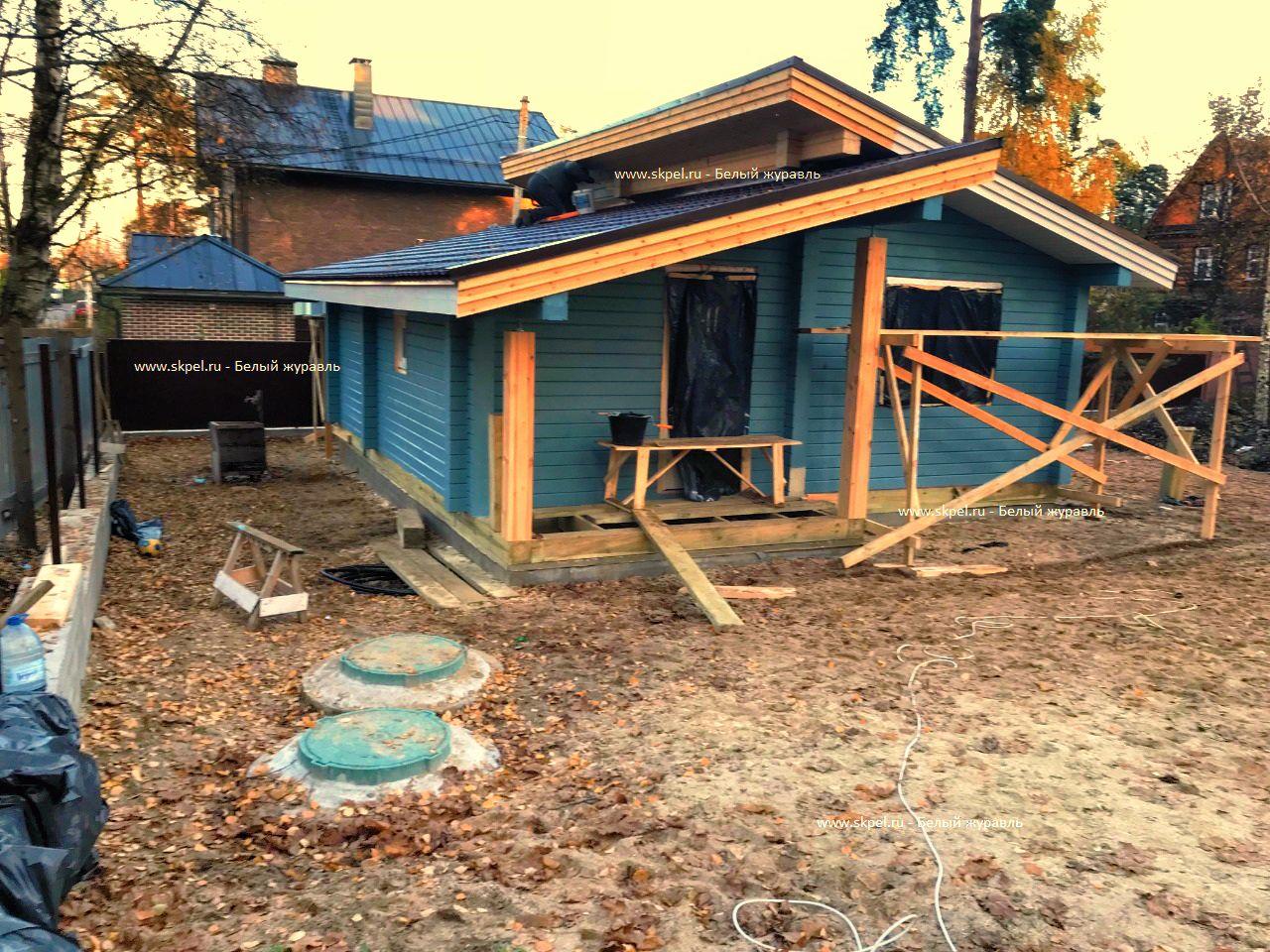 Дом из бруса в Сестрорецке