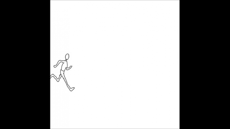 человек бежыыыыыт (жы шы от душы) пример анимацыыыыыыы.