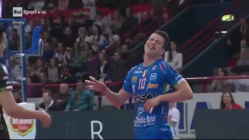 CIVITANOVA vs PERUGIA ФИНАЛ КУБКА ИТАЛИИ 2018