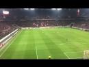 Фанаты Кёльна и Арсенала поют, что Тоттенхэм дерьмо