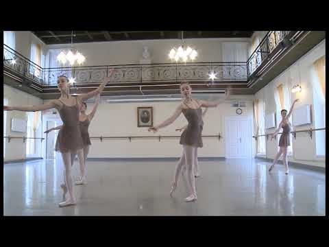 Vaganova classical dance exam. Part 3