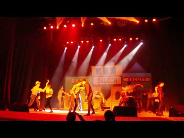Массовый танец Wild wild west Студвесна машиностроительного факультета 2016