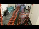 Электрика у МЕГАВОЛЬТА Электромонтаж по полу в квартире 110 м ЖК Лобачевский ремонт квартиры