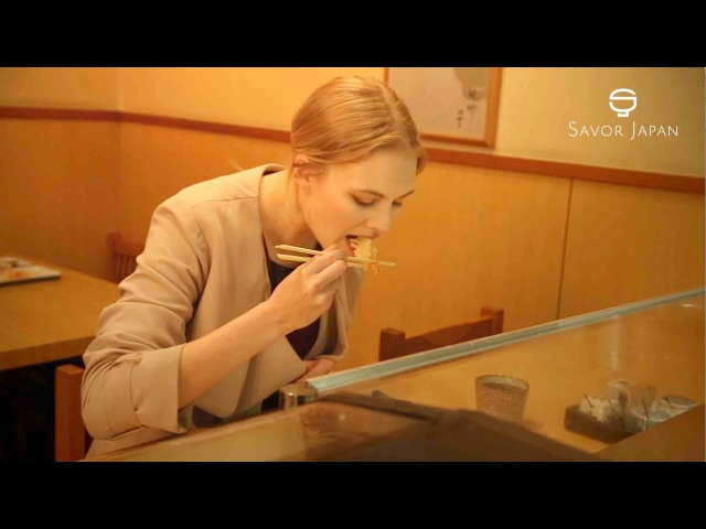 Learn from the master chef how to eat -TEMPURA-