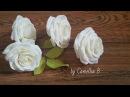 DIY - Paper Roses from crepe paper- Rosas de papel de crepe- 來自縐紙的紙玫瑰
