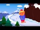 Развивающие и обучающие мультики про животных 🦊 - Лисичка - теремок песенки для детей и малышей