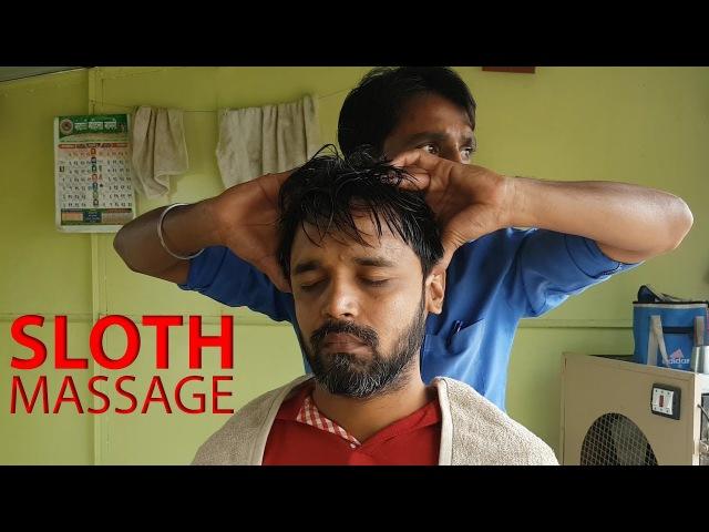 ASMR Sloth Head Massage