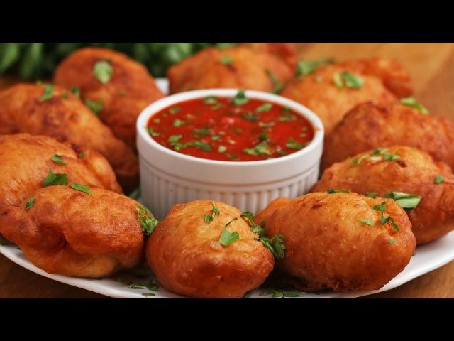 Deep Fried Mini Calzones