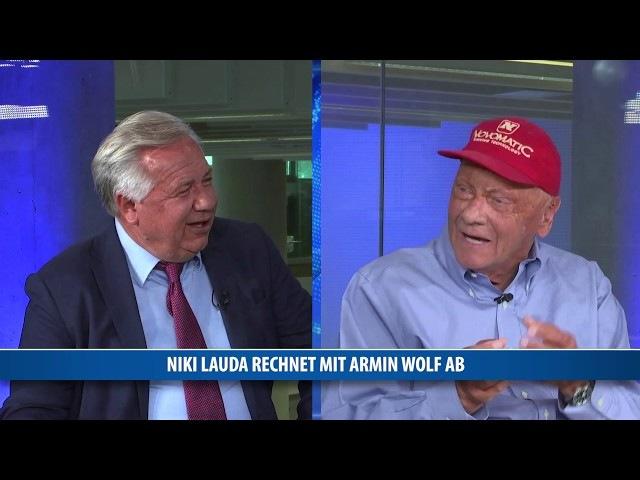 Niki Lauda rechnet mit Armin Wolf ab