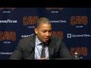 Tyronn Lue Postgame Interview | Knicks vs Cavaliers | October 29, 2017 | 2017-18 NBA season