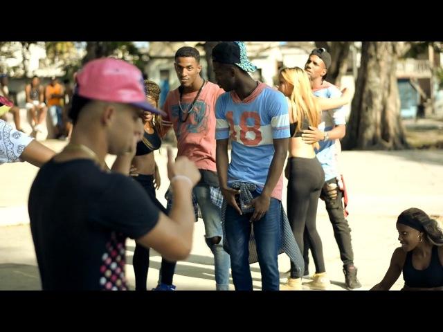 Película urbana de baile de reggaeton cubano de la calle (repa) 2da parte