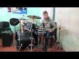Д. Палиев Этюд №10 для малого барабана с фортепиано - Daniel Varfolomeyev 14 years