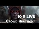 Battle for Azeroth 10 x Banshee Queen Sylvanas Live Crowd Reactions
