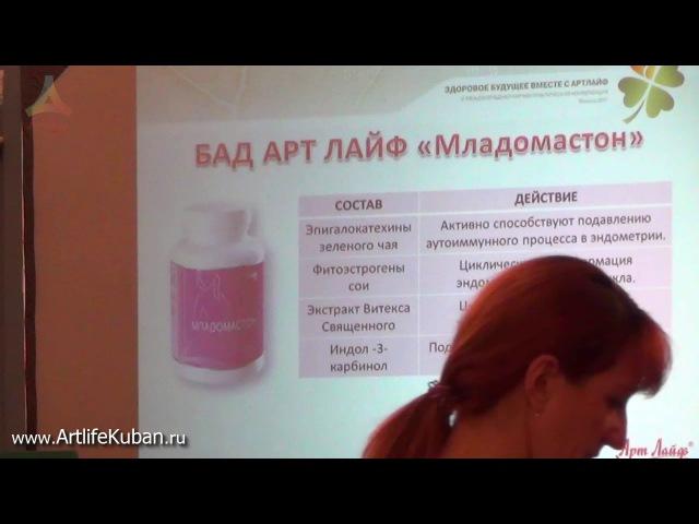Пути восстановления репродуктивного здоровья и терапиии с применением БАК компании АртЛайф.