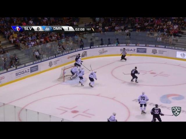 Моменты из матчей КХЛ сезона 16/17 • Удаление. Ржепик Михал (Слован) за неправильную атаку 30.08