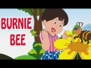 Burnie Bee - Animated Nursery Rhyme in English