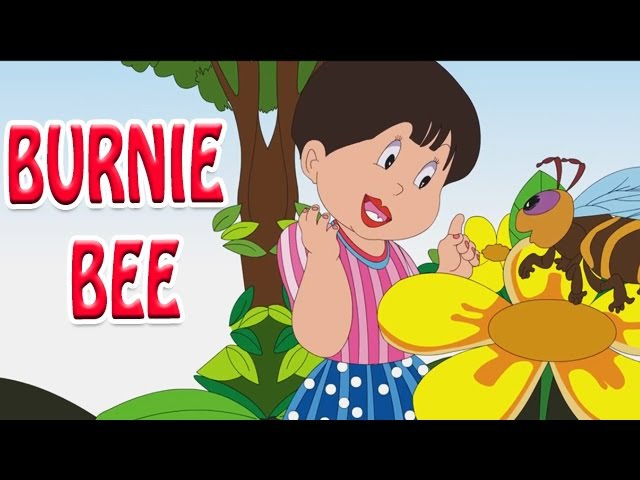 Burnie Bee - Animated Nursery Rhyme in English