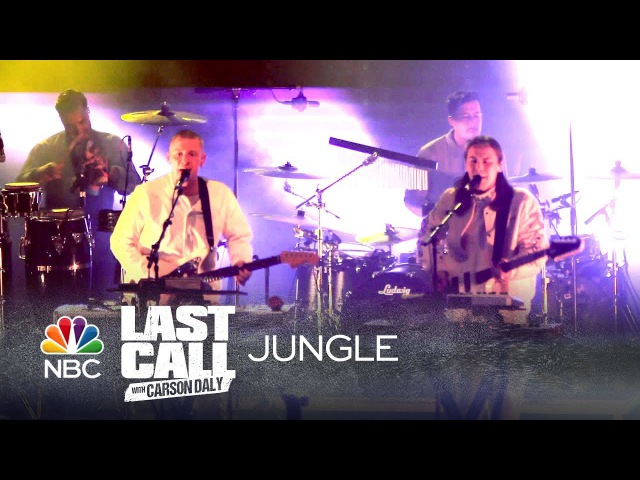 Jungle - Platoon - Last Call with Carson Daly