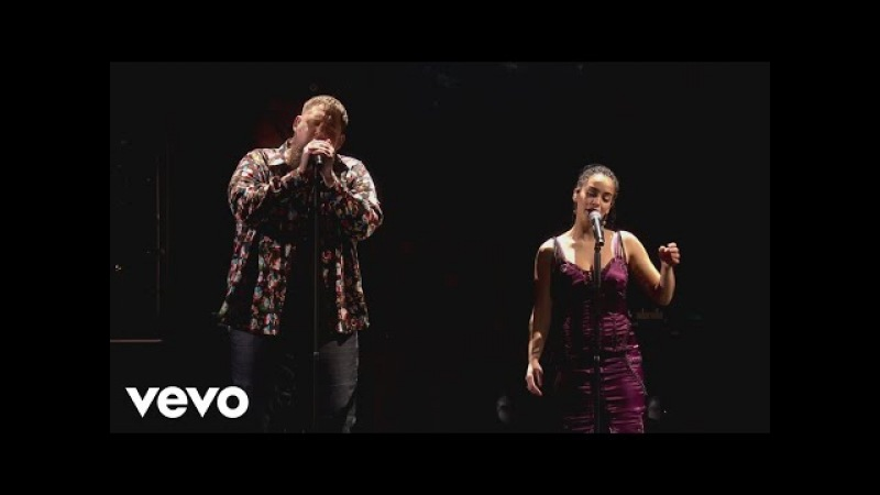 Rag'n'Bone Man - Skin (Live from the BRITs 2018) ft. Jorja Smith
