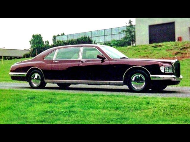 Rolls Royce Majestic by Bertone '1995