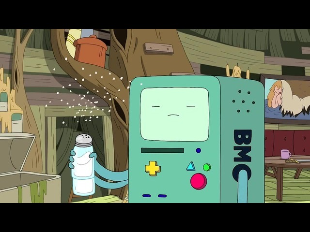 Let It Snow, BMO! NewYear_Coub