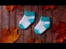 Носочки крючком для новорожденных Как связать носочки крючком