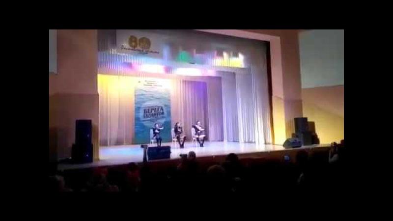 В Таганроге на конкурсе детских талантов показали номер по стрип пластике