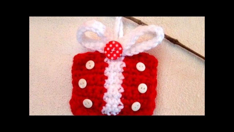 How To Crochet A Gift Ornament For Your Xmas Tree - DIY Crafts Tutorial - Guidecentral