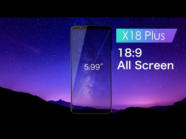 CUBOT released the New Year's first flagship handset X18 Plus.