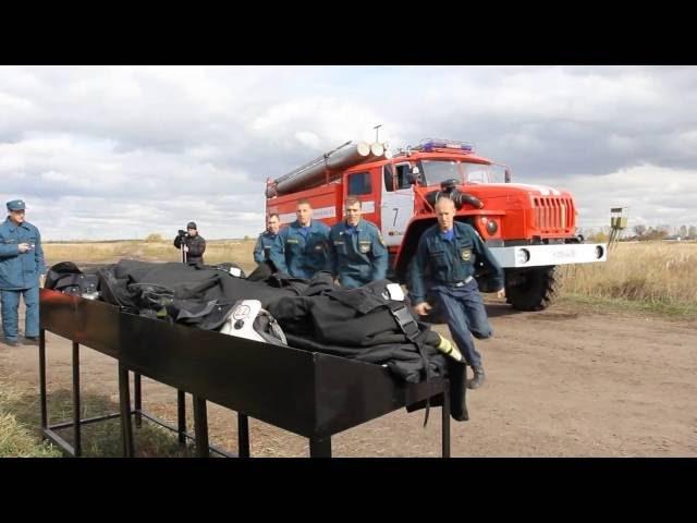 Промо ролик Пожарный биатлон г Омск 09 09 2016