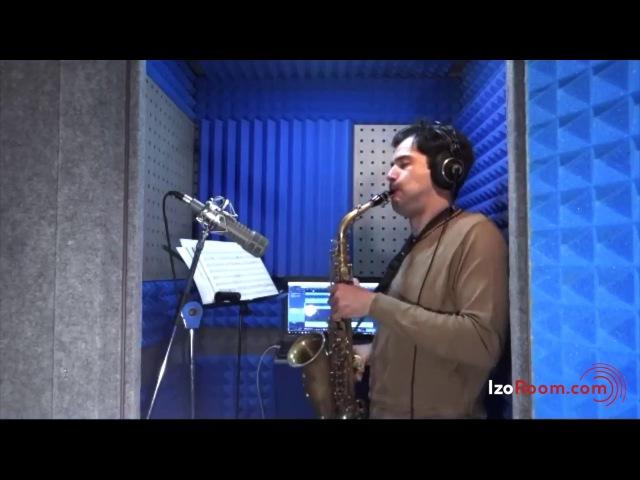 Акустическая кабина IzoRoom - звукозапись саксофона в домашних условиях