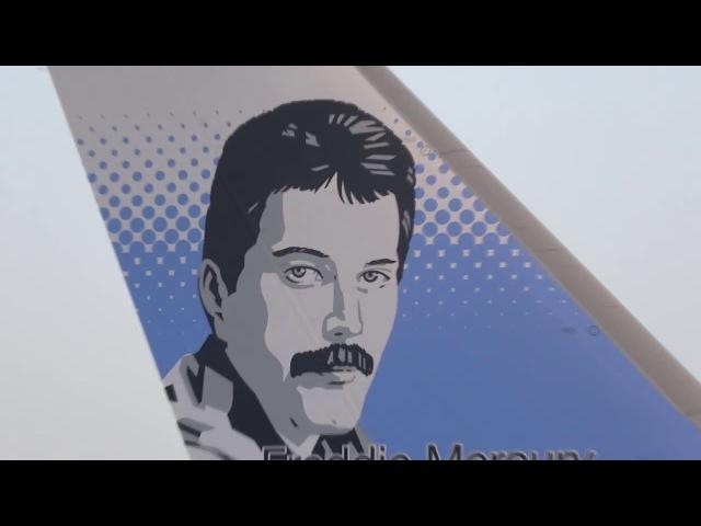 Freddie Mercury Norwegian Dreamliner