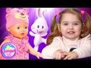 Кукла BABY BORN научилась ходить и Говорить Интерактивная Беби Борн Учимся Ходить и Коляска