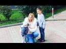 Дарья Пынзарь вместе с семьёй решила выйти на прогулку по парку