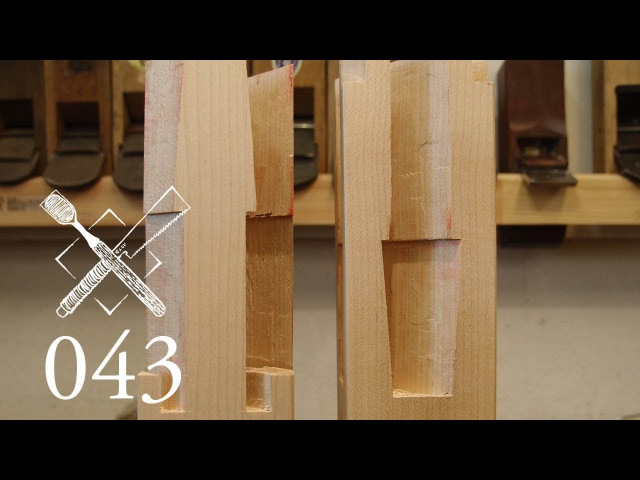 Joint Venture Ep.43: Four faced goose neck splice Sihou kama tsugi (Japanese Joinery)