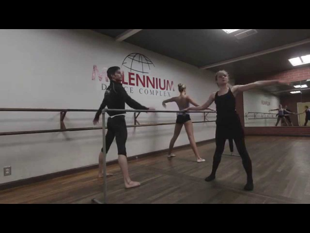 Basic Ballet w Laura - Lesson 7 Warm Up Stretch