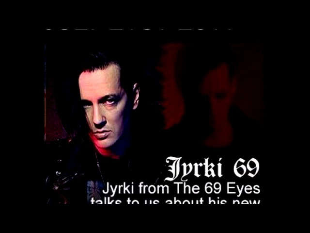 Intervew Jyrki of 69 Eyes (21.07.2017) İdobi Radio, Blackout