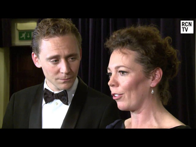 Tom Hiddleston Olivia Colman Interview London Film Festival 2012