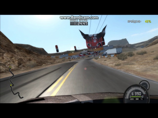 Скоростные гонки Невада Хайвей 3 на Lamborghini Murcielago