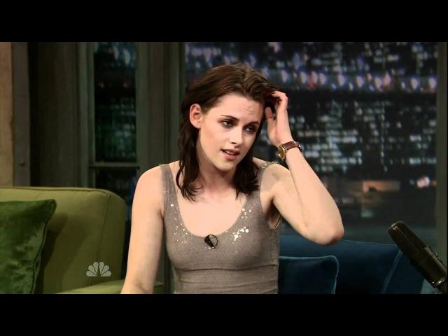 Kristen Stewart on The Jimmy Fallon Show (16.03.2010)