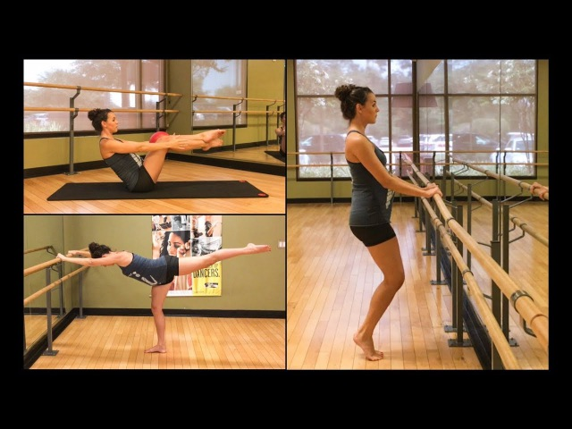 TOTAL BODY BARRE WORKOUT - firm tone