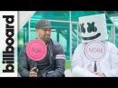 Marshmello Moe Shalizi Play 'Never Have I Ever' | Billboard