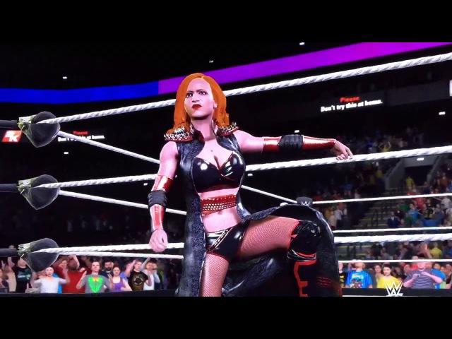 WWE 2K17: Angelina West (PS4)