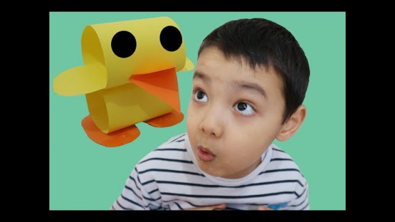 How to make Yellow Duckling for Children