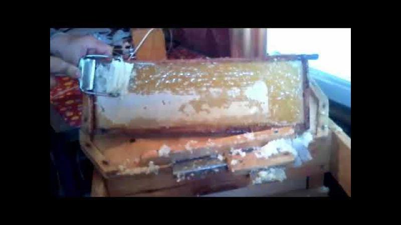 Вторая версия эффективной распечатки пчелиных сотов