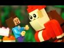 ЛЕГО НУБик 🎅 ЛЕГО ДЕД МОРОЗ Майнкрафт Мультики для Детей LEGO Minecraft Мультфильмы