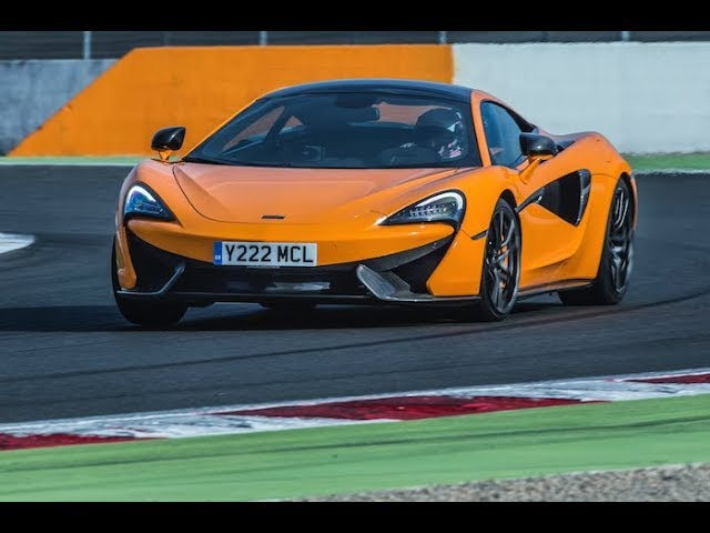 McLaren 570S Track Pack on Magny-Cours GP